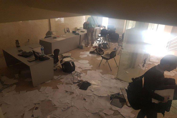 حمله به دفتر اسنپ در کرمان