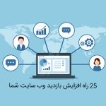تصویر ۲۵ راه افزایش بازدید وب سایت شما